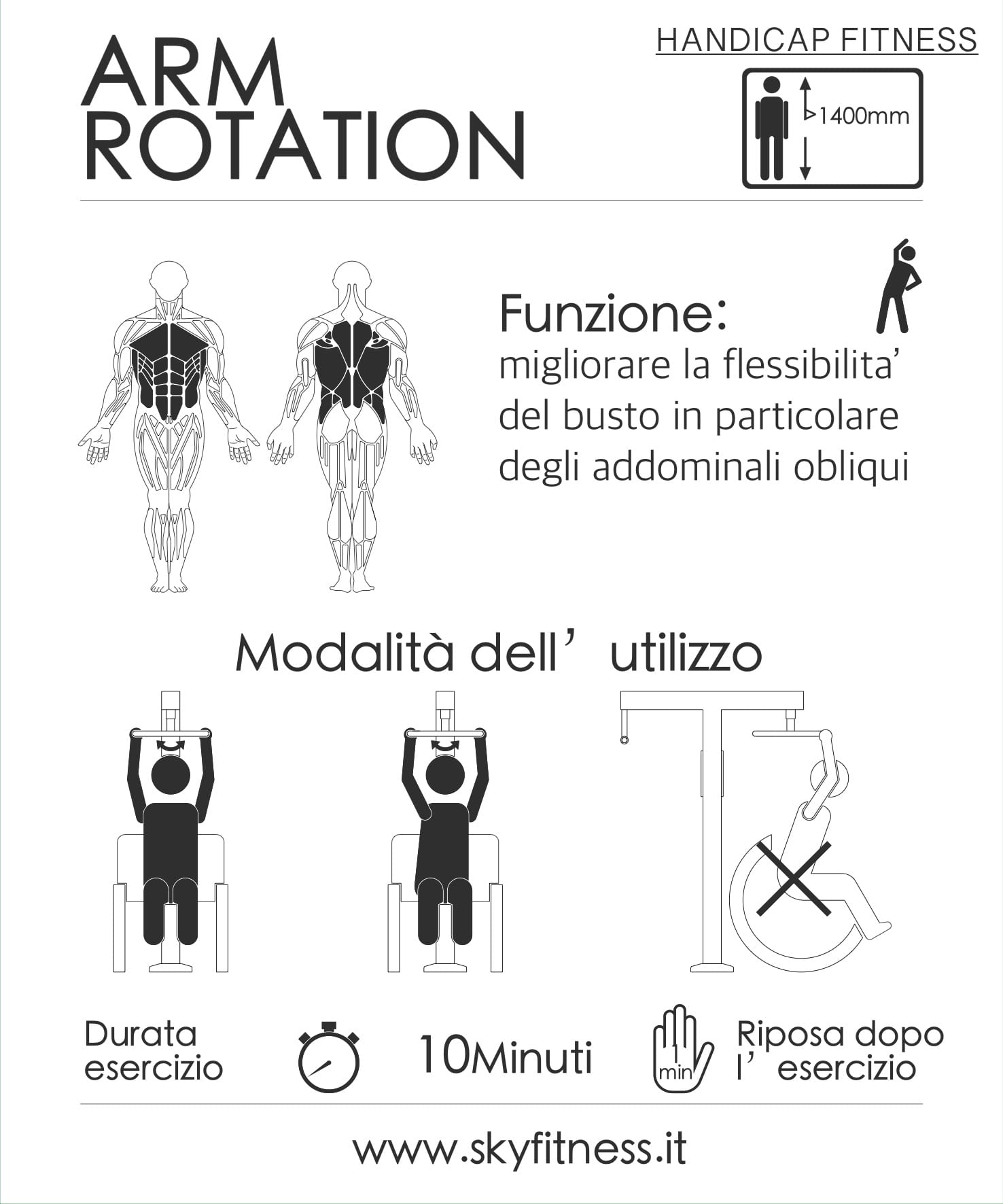 FIT HD 7- ARMS ROTATION ita