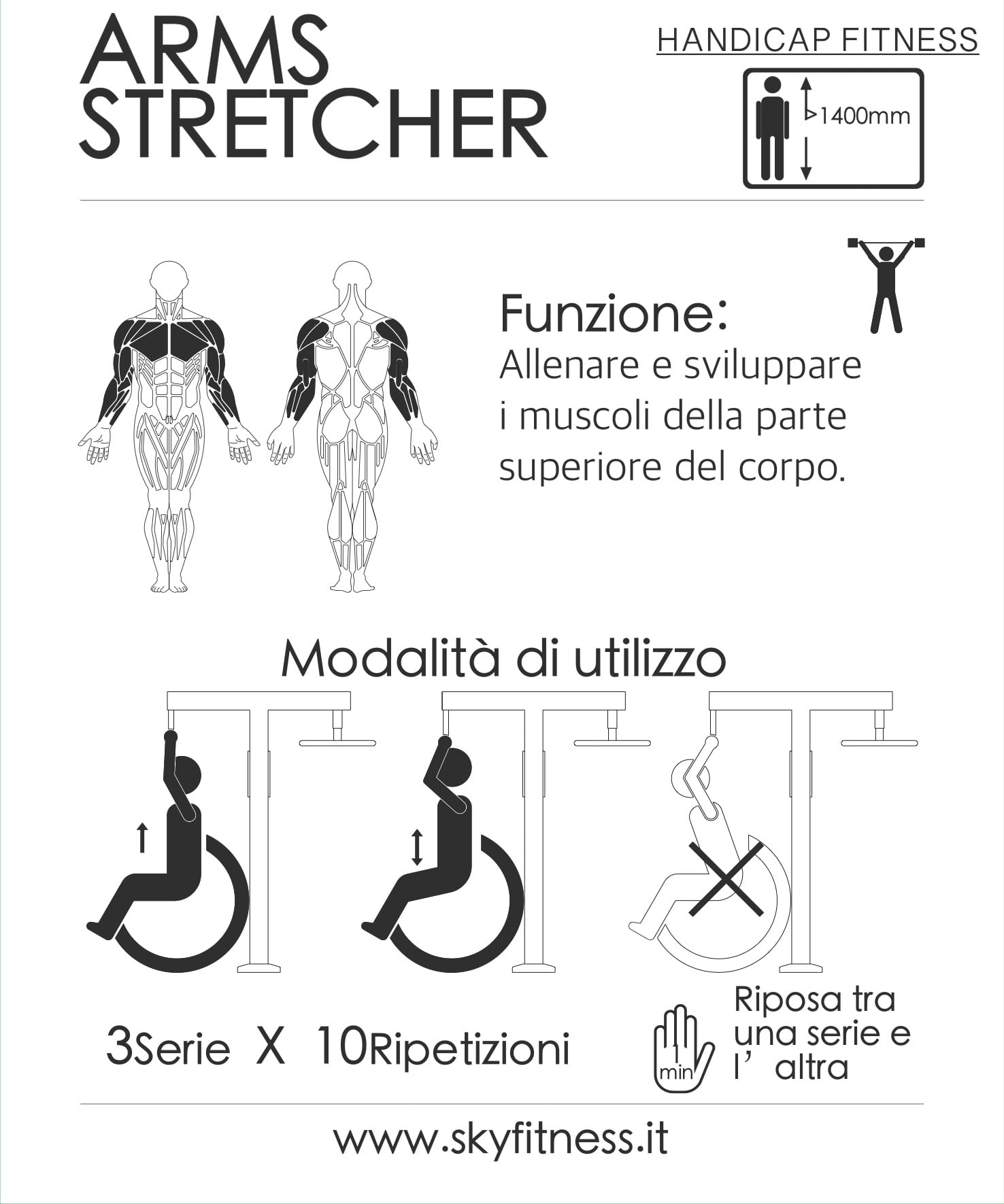 FIT HD 7- ARMS STRETCHER ita