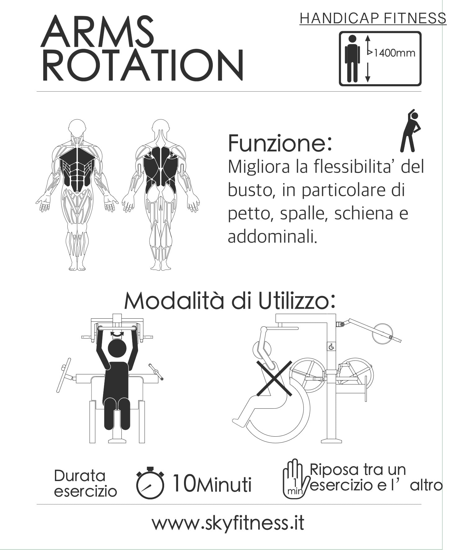 FIT HD M 1 ARMS ROTATION