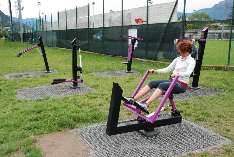 """Sul Talvera una nuova area fitness """"rosa"""""""