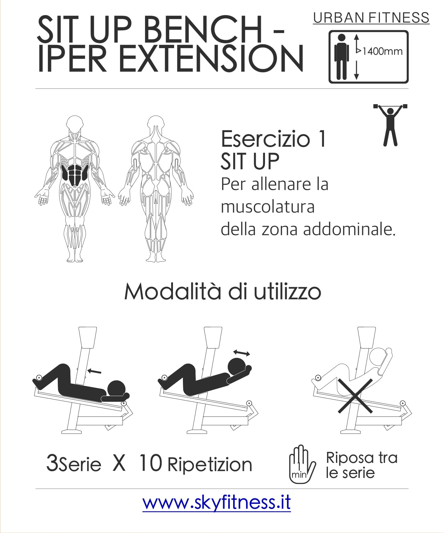 SIT UP & IPEREXTENSION B