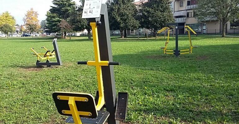 Il Parco del Donatore diventa un'area fitness per tutti grazie al Lions