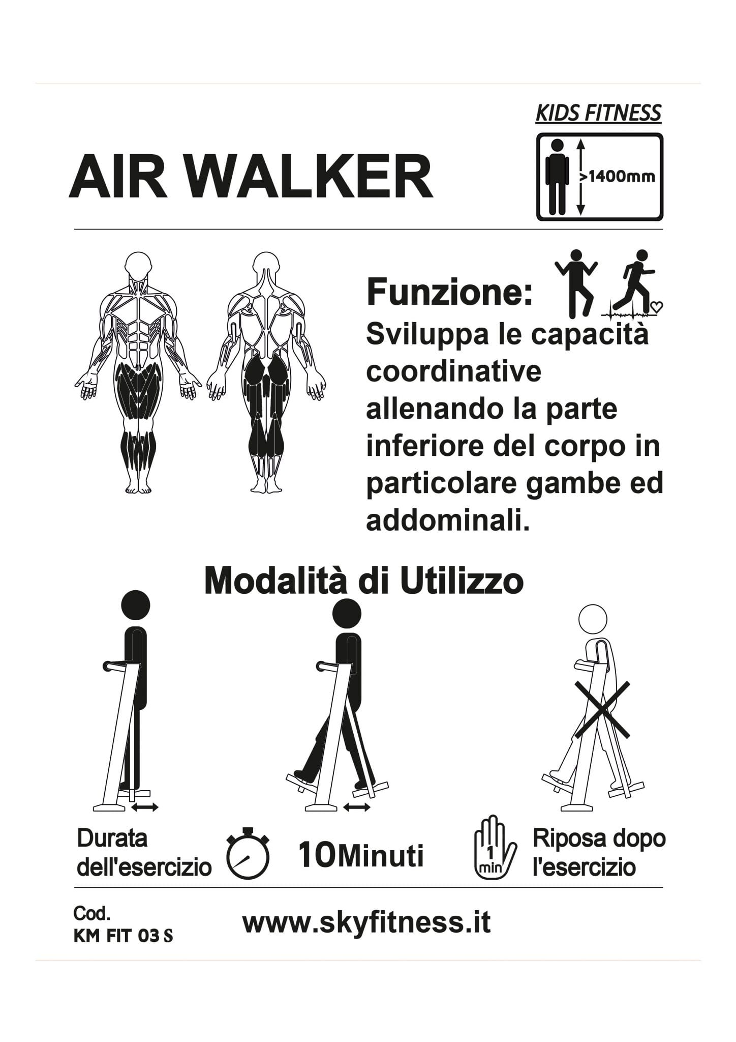 AIR WALKER KM FIT 03 S