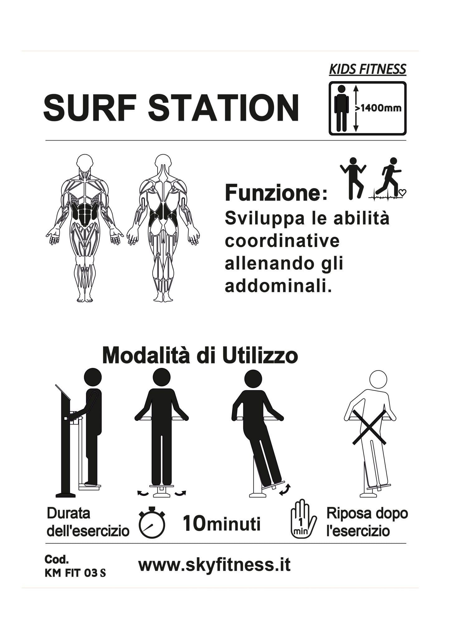 SURF STATION KM FIT 03 S
